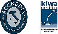 logo Kiwa_Accredia Blu SISTEMA
