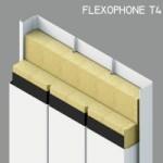 pannello fonoisolante e fonoassorbente FLEXOPHONE