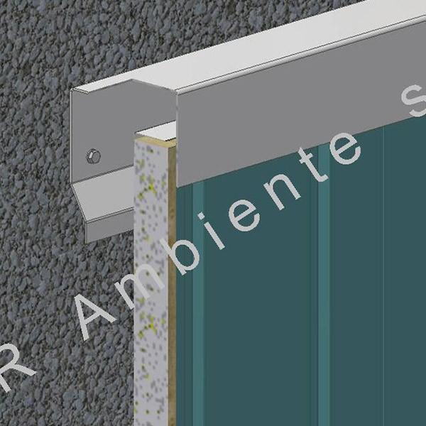 Pannello Metallico di Rivestimento per Muri e Gallerie