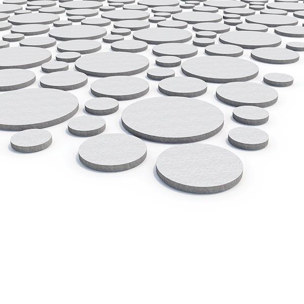Senz'Eco Tile Pannello fonoassorbente con forme geometriche